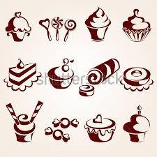 Resultado de imagen para logos de pastelerias vintage