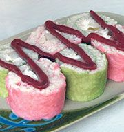 Dessert Sushi Recipe from Asian Food Grocer