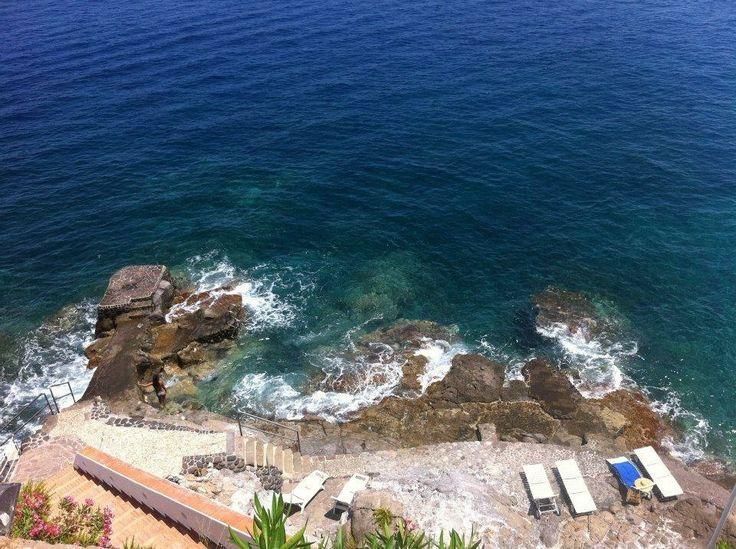 #carascohotel #deepblue #sea #rocks #holidays #summer #lipari #aeolianislands