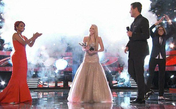 Danielle Bradbery is crowned the winner of The Voice, Season 4 (Jun 18