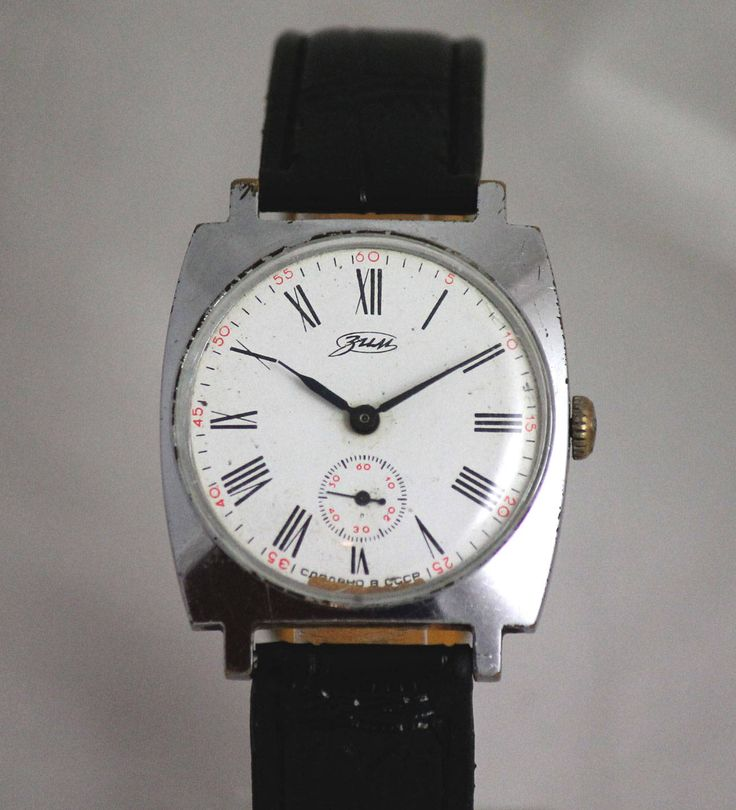 Excited to share the latest addition to my #etsy shop: ZiM (POBEDA) Rare Vintage Nice White Dial SERViCED watch 15 Jewels made in USSR http://etsy.me/2nfNjmc #accessories #watch #grey #mechanical #minimalist #leather #stainlesssteel #no #unisexadults