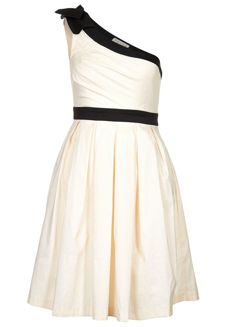 Fever London - MAE ONE - Cocktailkleid / festliches Kleid - ivory/black