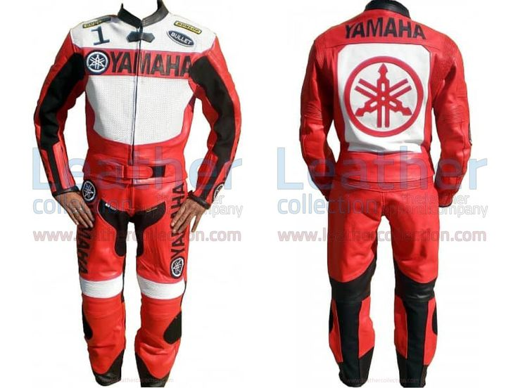 Yamaha Motorbike Leather Suit Red / White  https://www.leathercollection.com/en-we/yamaha-motorbike-leather-suit-red-white.html  #Yamaha_Apparel, #Yamaha_Leather_Suit, #Yamaha_Motorbike_Leather_Suit_Red__White