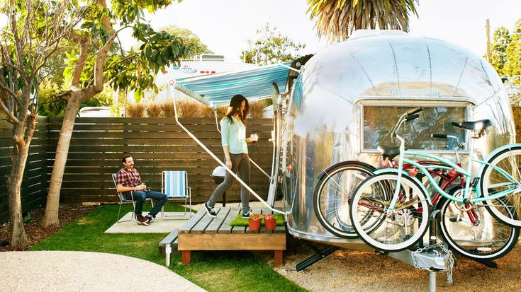 Santa Barbara Auto Camp, Santa Barbara, CA | Try an overnight in a room on stilts, a vintage trailer, a hanging orb, and more unusual sleeps