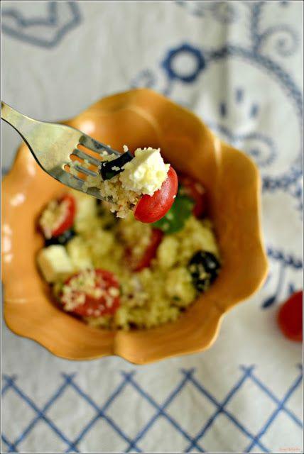 Sweet my Kitchen: Salada de cuscuz grega