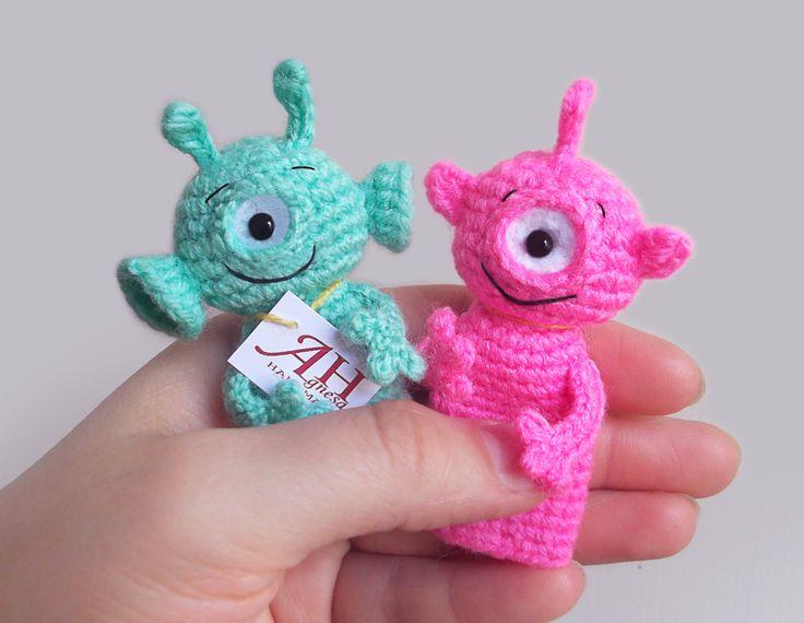 Amigurumi Monsters Inc : Monster amigurumi etsy