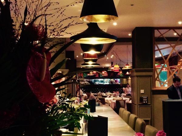 Classic Modern Bistro | 21 interior design by Ward Robinson | Newcastle upon Tyne | Tom Dixon lighting