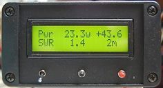 Arduino Your Home & Environment: ARDUINO RF power & SWR meter