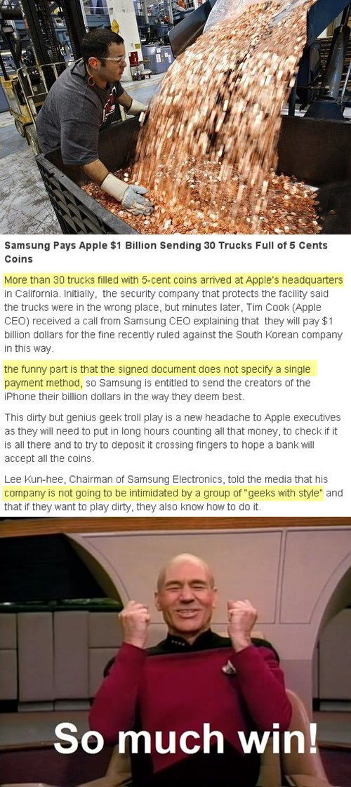 Samsung win.