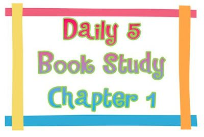 Teaching for Tomorrow: Daily 5 - Chapter 1: Study Chapter, Daily5, Books Study, Classroom Inspiration, Seusstast Classroom, Daily 5 Cafe, Classroom Ideas, Daily 5Cafe, 3Rd Grade