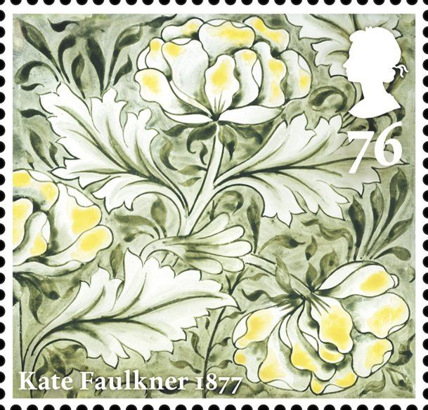 Morris & Co.                                          Issued May 2011.                                      Peony                                                         Kate Faulkner 1877