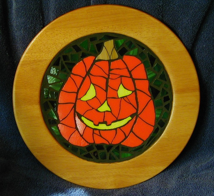 #Mosaic pumpkin: Mosaics Pumpkin, Pumpkin Patches