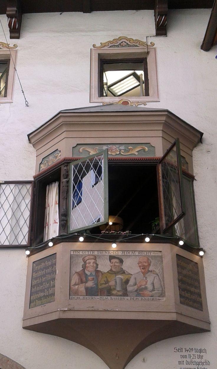 Window in Kufstein, Germany