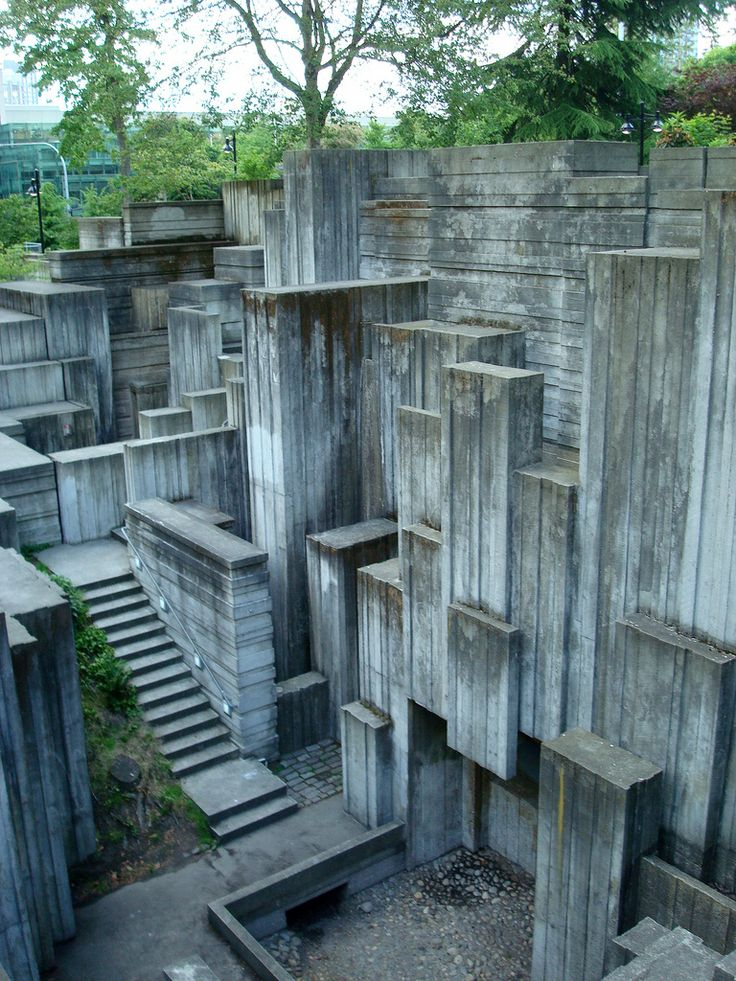 freeway park; seattle, washington, united states