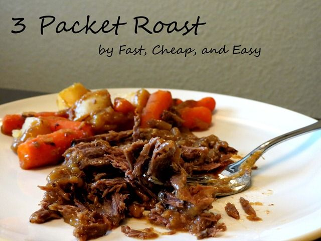 3 packet roast fast cheap and easy 2