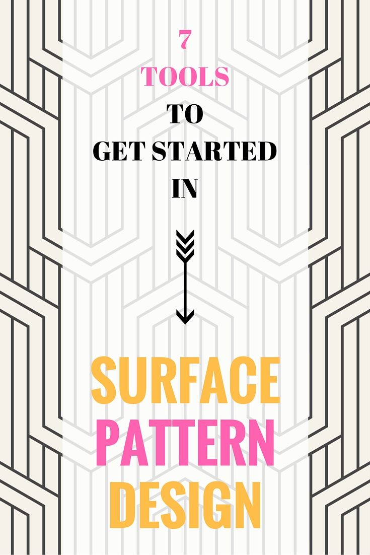 Read this and get started in SURFACE PATTERN DESIGN today.