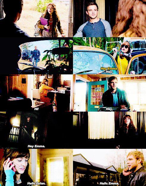 Dylan and Emma #BatesMotel #AnaZaisei
