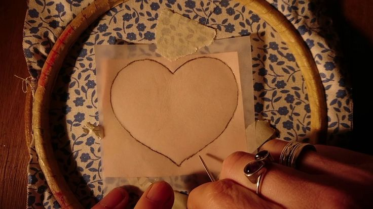 Embroidery Basics 7 - Transferring the Design. Beginner. Craft Jitsu Han...
