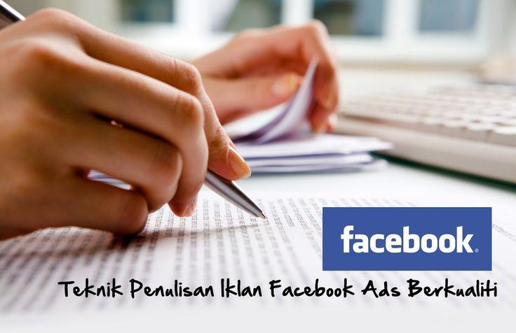 Tips menulis ayat iklan facebook ads berkualiti, kurangkan risiko wang pelaburan melebur sia-sia..