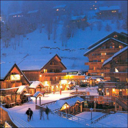 Méribel #ski resort, #France