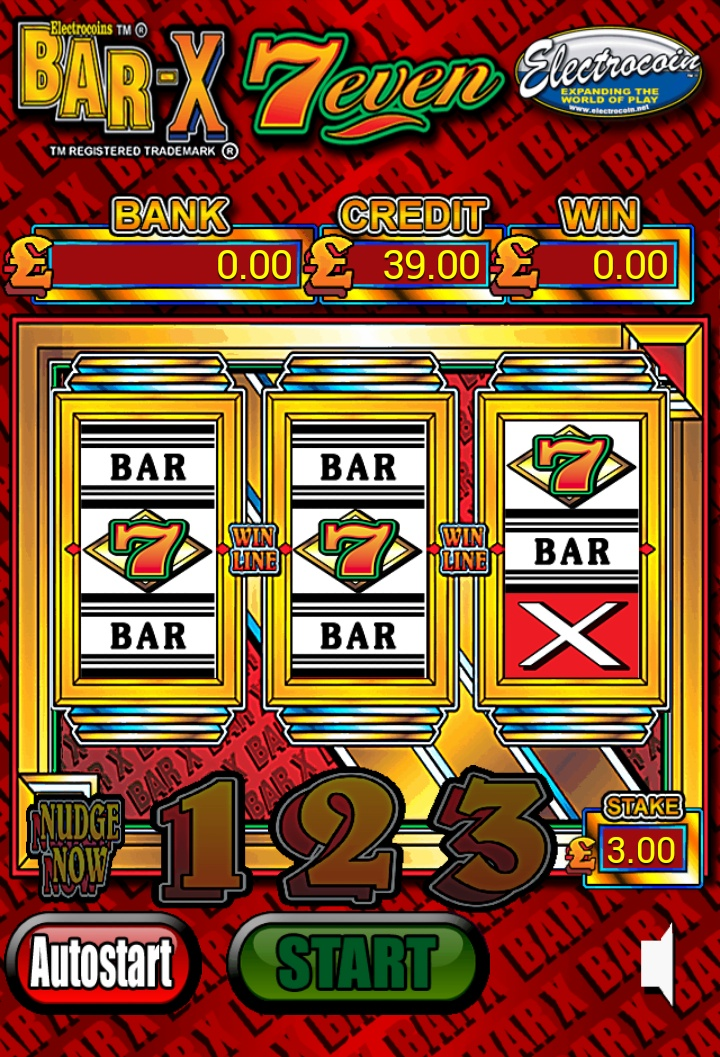 The Bar X is the UK's most popular slot machine now available on yer mobile, exclusively on PocketFruity.com !