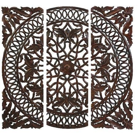 Wood Medallion Wall Decor 35 best wood relief carvings wall art images on pinterest | wood