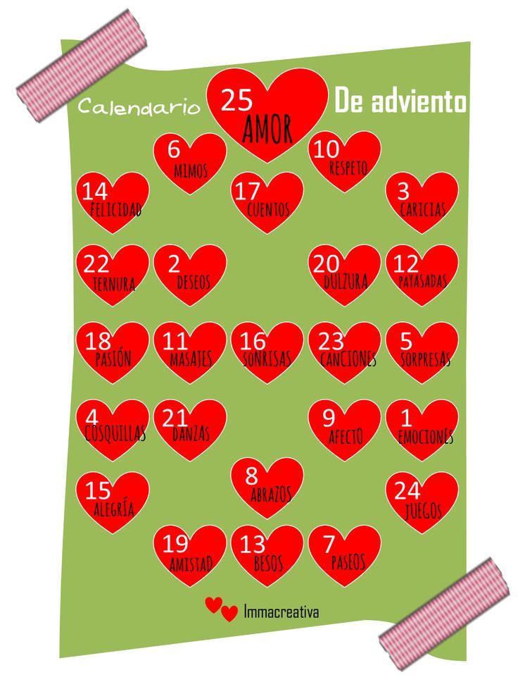 222 best images about calendarios de adviento on pinterest - Calendario de adviento diy ...