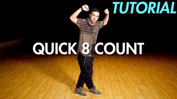 how to do a quick 8 count dance routine hip hop dance