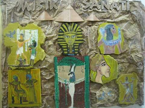 Sedef - Mısır Sanatı - Pano