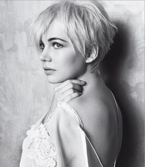 Michelle-Williams (marie-claire)Short Hair, Shorts Haircuts, Hair Cut, Hair Style, Michellewilliams, Michelle Williams, Shorts Hairstyles, Michele Williams, Pixie Cut