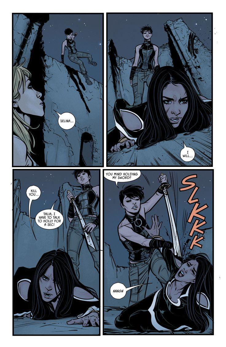 Batman 35. Catwoman Selina Kyle Talia al ghul