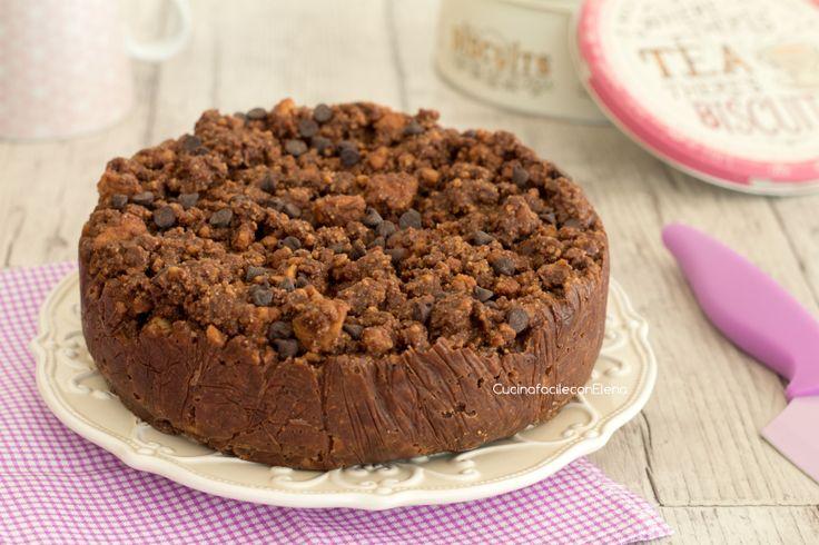 torta cookie fredda intera