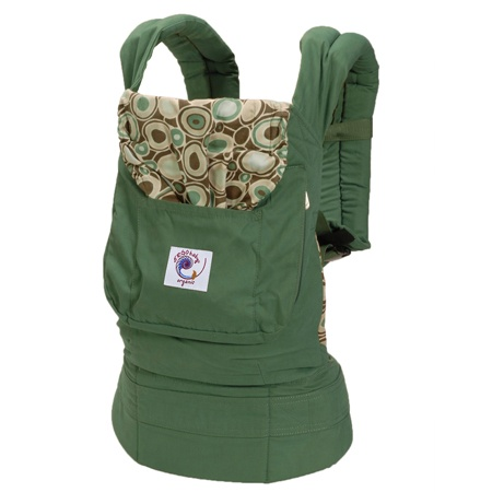 My Ergo Organic Baby Carrier. I love it as much as my Bugaboo!