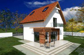 Proiecte de case mici cu etaj - dimensiuni reduse, spatiu mare