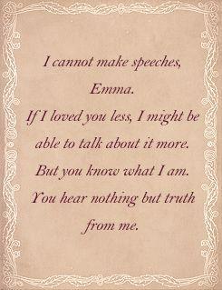 Mr. Knightly to Emma Woodhouse - Emma