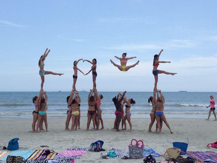 cheer stunts - Google Search