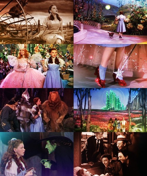 The Wizard of Oz. Favorite Movie! =)