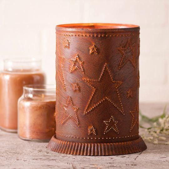 Candle Warmer With Country Star Rustic Tin In 2019 Candle