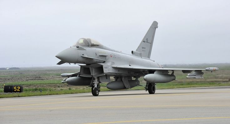 NATO HQ Aircom | Italy to assure NATO air mission in Iceland 2017. An Italian Air Force Eurofighter Typhoon jet at Keflavik Air Base, Iceland, during the 2013 deployment to the Ally in the High North. Photo courtesy Italian Air Force