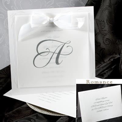simple - card and transparent put together with ribbon
