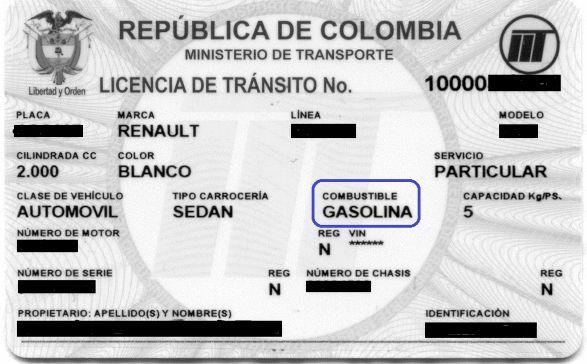 La conversión a gas obliga a actualizar la licencia de transito « Notas Contador