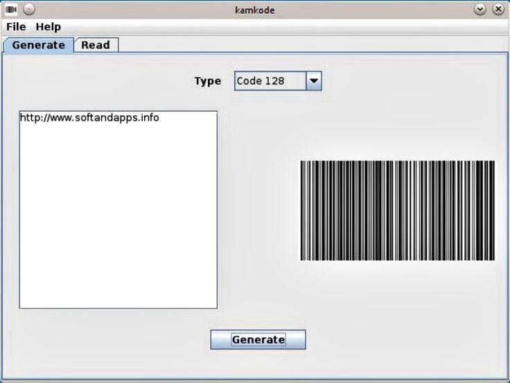 Kamkode es un soft gratuito, para Windows, Mac y Linux, con el que podemos crear códigos QR, códigos de barras y otros tipos. También los lee con la webcam.