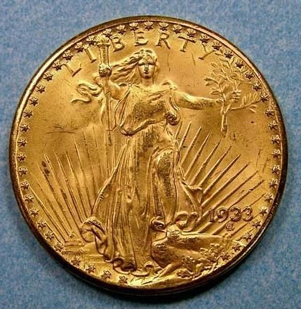 "A Rare & Beautiful Lady Goes On Tour. She's one of 500,000 20 dollar gold coins ""Double Eagles"" struck in 1933, never released into circulation. Only 13 survive today. The rest were melted down to stabilize America's economy by removing gold from circulation during the Great Depression. In March 2012, for the first time ever, Curator Karen Lee & Sr. Curator Dr. Richard Doty of the Smithsonian's National Numismatic Collection have taken this legendary coin on a European tour."