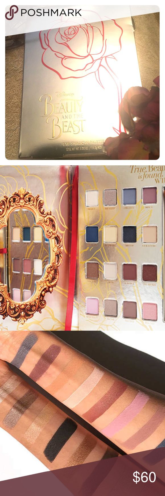 LORAC Beauty and the Beast Palette Inspired by Belles steadfast strength and undeniable beauty, this limited edition palette takes you on an imaginary journey of wonder and romance.  You'll be enchanted with these 16 all-new and exclusive shades.  BNIB and never used, box factory sealed. Reasonable offers considered.   *Due to an eye condition the lighting in my house is off.  Please refer to the stock photos for best view of the colors. lorac Makeup Eyeshadow
