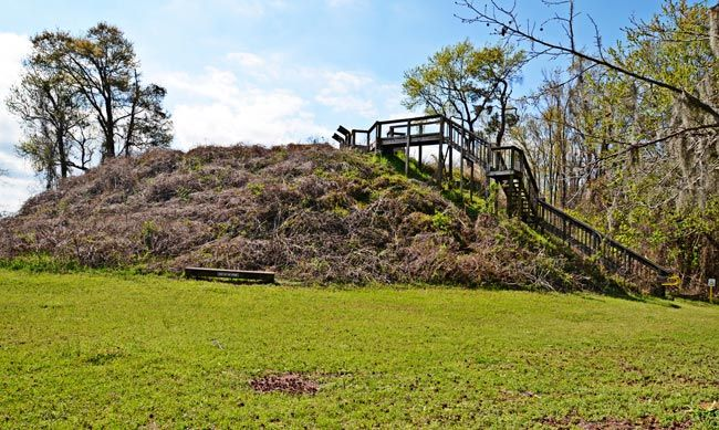 Santee Indian Mound - Summerton,  SC