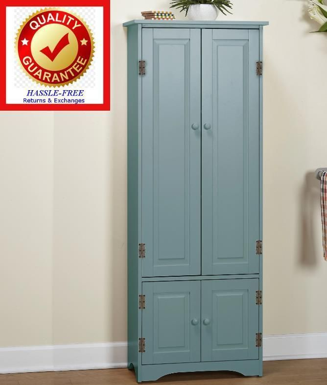Büroschrank Büro Kabinett Aktenschrank Metall Metallschrank Grau und Blau