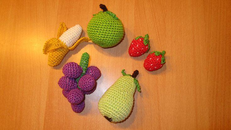 Puppen & Puppenstube - Lebensmittelspielzeug - Obst und Früchte  - ein Designerstück von Rasselbande-MelanieHechenberge bei DaWanda