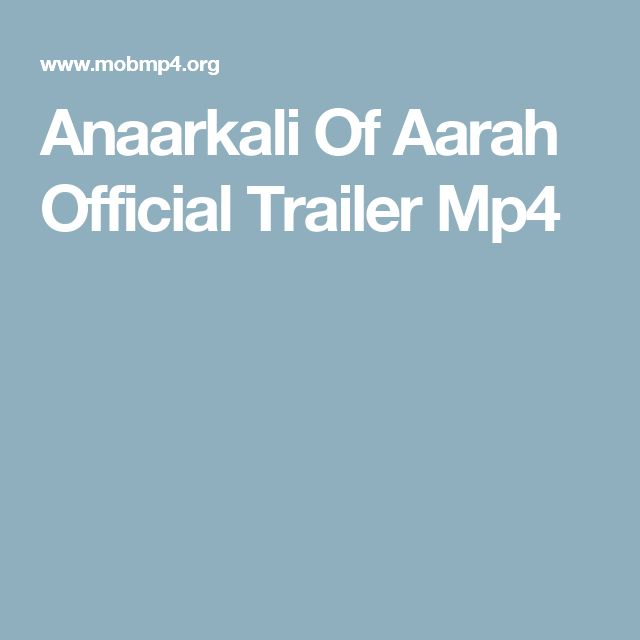 Anaarkali Of Aarah Official Trailer Mp4