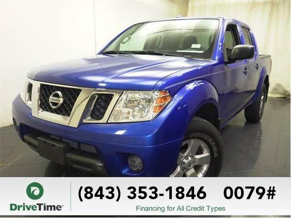 2012 Nissan Frontier truck SV V6 (BLUE) (Nissan_ Frontier_ truck_)