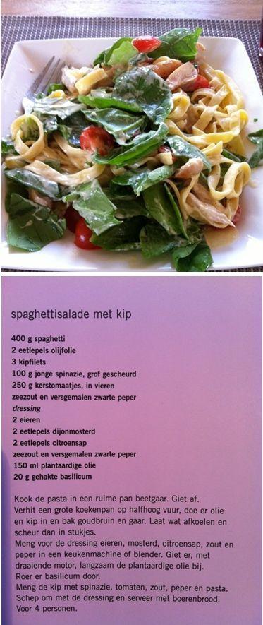 Overheerlijke pastasalade met kip